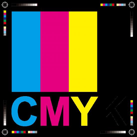 CMYKの4色